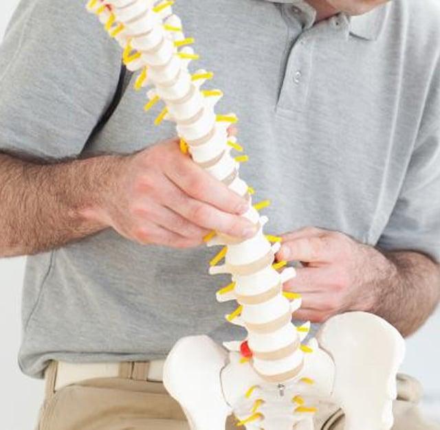 Chiropractic examination in Meridian